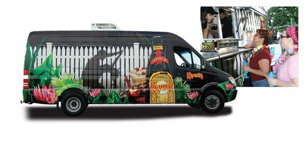 Custom experiential sprinter vans box trucks