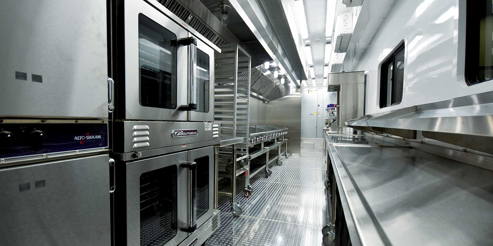 HEALTH CODE COMPLIANT MOBILE KITCHENS