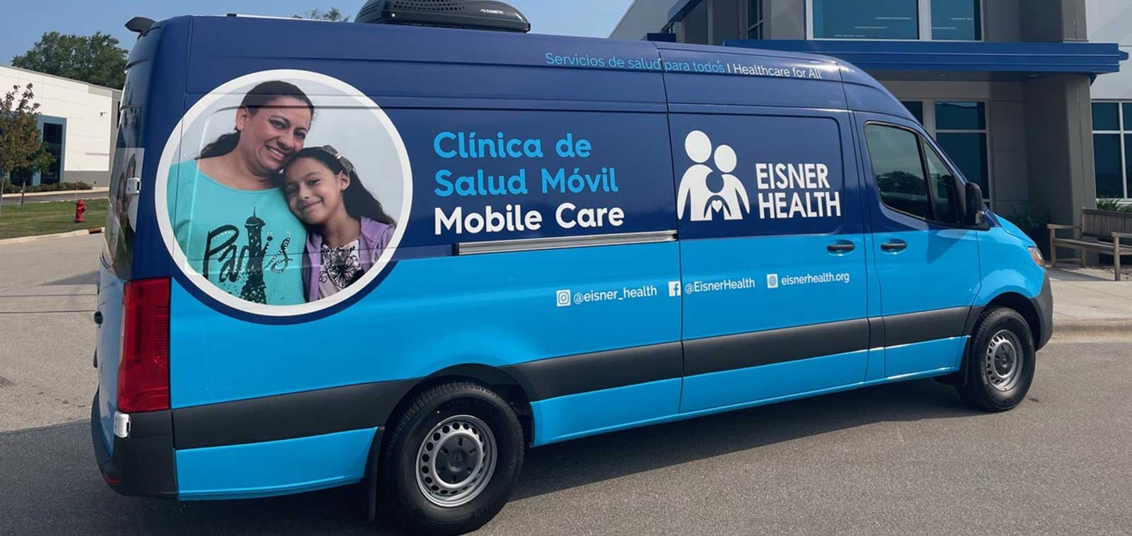Mobile Healthcare Sprinter Van