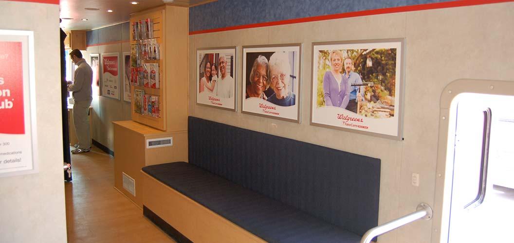Mobile healthcare clinics